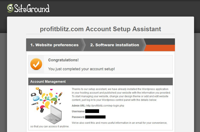 How to Install WordPress with SiteGround's Web Hosting