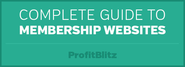 Complete Guide to Membership Websites