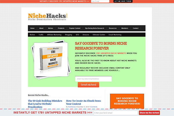 Niche Hacks