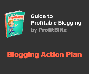 Blogging Action Plan