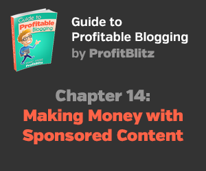 Chapter 14: Monetizing a Blog with Sponsored Content