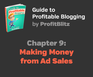 Chapter 9: Monetizing a Blog with Ad Sales