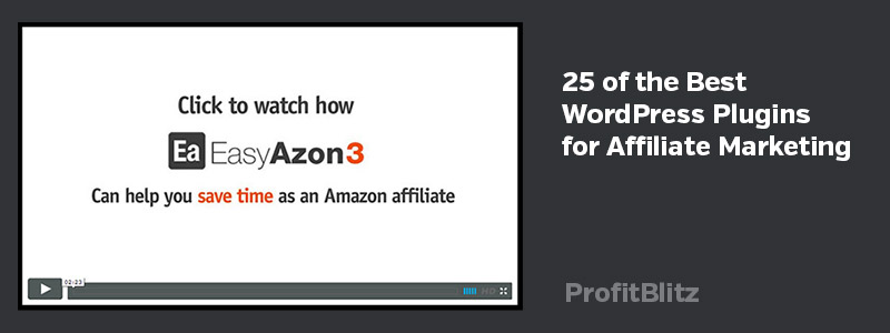 25 of the Best WordPress Plugins for Affiliate Marketing