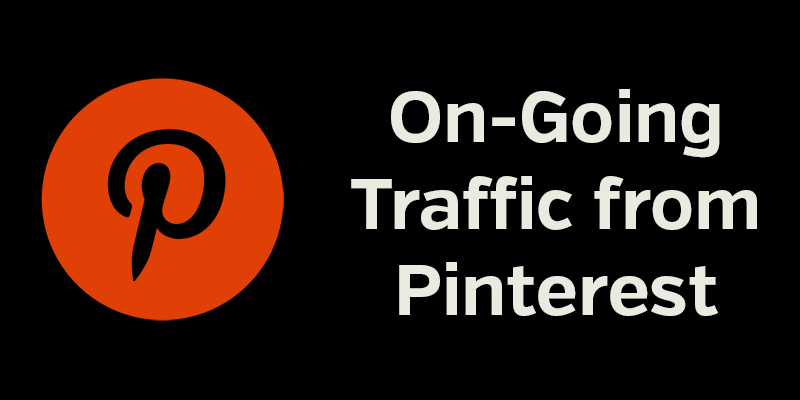 On-Going Traffic from Pinterest