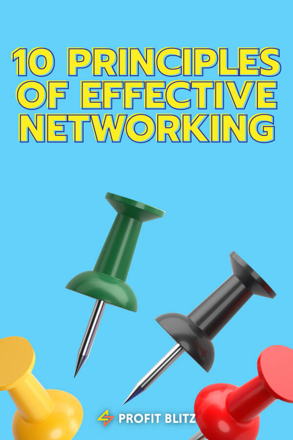 Principles Of Effective Networking