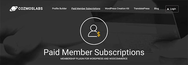Paid Member Subscriptions