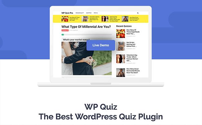 WP Quiz Plugin