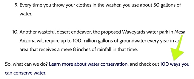 Alternet wrote 10 facts about water usage