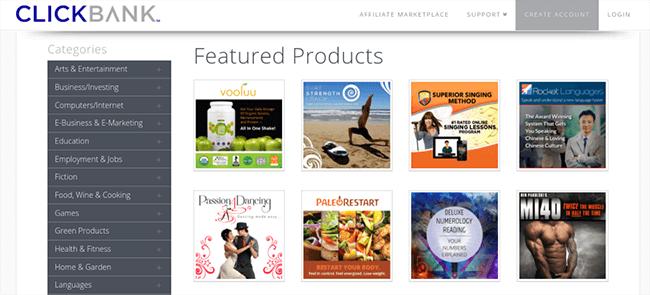 ClickBank affiliate marketing platform