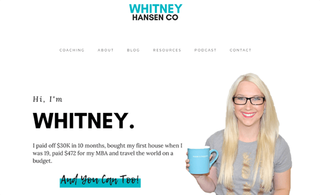 Whitney Hansen Co offering consulting