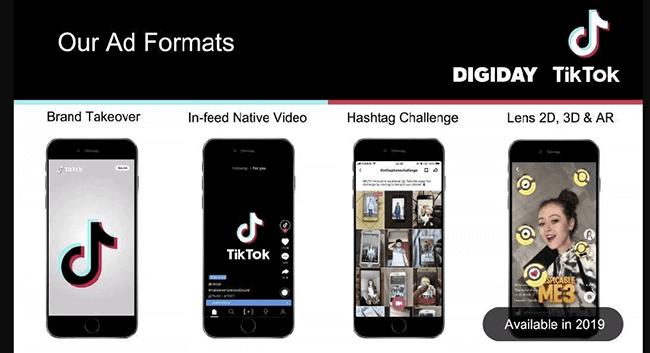 TikTok - Ad formats