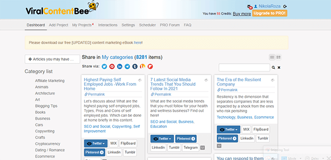 11 viral content bee for social shares