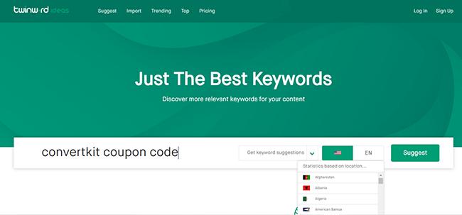 13 twinnword keyword tool free