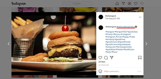 1 creative instagram hashtags